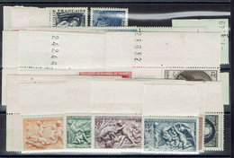 Fr - 1949 - Postes - Année Complète N° 823/862 - XX - MNH - TB - - 1940-1949