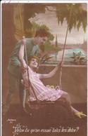 CPA/685............BALANCOIRE - Couples