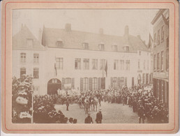 1899 MONS BELGIE BELGIQUE 12*9CM Collectionbel ON CUPBOARD - Ancianas (antes De 1900)