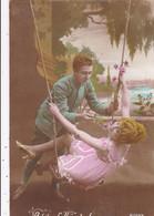 CPA/687............BALANCOIRE - Couples