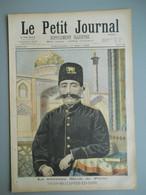 LE PETIT JOURNAL N° 287 - 17 Mai 1896 -  SHAH MOZAFFER  ED DINE DE PERSE - FETE DU COURONNEMENT EN RUSSIE - Le Petit Journal