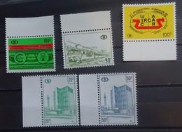 BELGIE Spoorweg  1972-75      TR  423  /  424  /  425  /  426-427      Postfris **  CW 24,50 - Railway