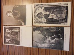 841-THEME OEUVRES D ART MAJORITE PEINTURE-LOT ENVIRON 460 CPA -2.045 KG ENVIRON - 100 - 499 Karten