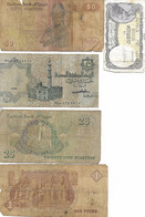 Egypte. Lot De Billets De Banque. Billet égyptien. - Egypt