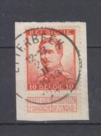 COB 118 Oblitération Centrale ETTERBEEK - 1912 Pellens