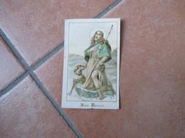 San ROCCO Cane Orazione - Devotieprenten