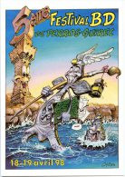 "COYOTTE "" 5ème Festival De La Bande Dessinée De PERROS-GUIREC 1998 - Comicfiguren"