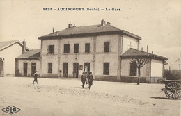 AUDINCOURT - La Gare - Altri Comuni