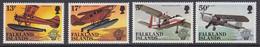 Falkland Islands 1983 Bicentenary Of Manned Flight  4v ** Mnh (50642) - Falklandinseln