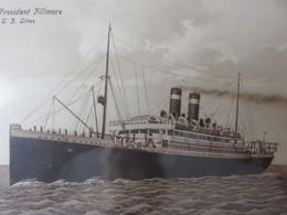 Président Fillmore - Passagiersschepen