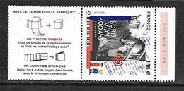 Fg236  France Boris Vian N°5406 N++ Issu Du Feuillet - Frankreich
