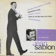 """Jean Sablon 45t. EP """"puisque Vous Partez En Voyage"""" - Other - French Music"""