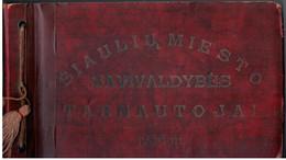 Lithuania Lietuva 1938 Siauliai, City Municipality Officials, Miesto Savivaldybės Tarnautojai, 22x Pictures - Litauen