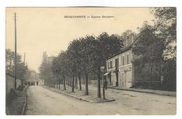 E708 - BEAUCHAMP - Square Delpierre - Plan RARE - Beauchamp