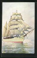Künstler-AK Christopher Rave: Südpol-Expeditionsschiff Gauss, Jetztzeit - Andere Zeichner