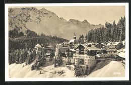 AK Arosa, Panorama Mit Gasthaus Und Kirche, Im Winter - GR Grisons