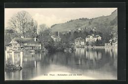 AK Thun, Hofstetten Und Die Aare - BE Berne