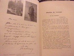 BERRY INDRE STE MAURE CHATEAU DE PLANCHES  CHARLES DE LESSEPS PAR JULES DE VORYS 1923 - Centre - Val De Loire