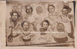 CARTE PHOTO FOTOKAART SURREALISME / HUMOR HUMOUR / SCENES DE FAMILLE - Humor