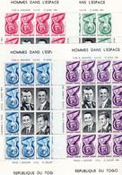 Togo/République Togolaise 1961 - Space Exploration/Hommes Dans L'Espace -  4 Minisheets - MNH** - Excellent Quality - Togo (1960-...)