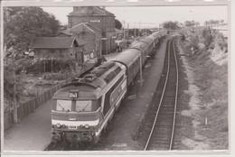 67 - ROSHEIM - CARTE PHOTO - TRAIN EN GARE - Sonstige Gemeinden