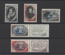 RUSSIE.  YT  N° 1341/1345   Neuf **  1949 - Ungebraucht