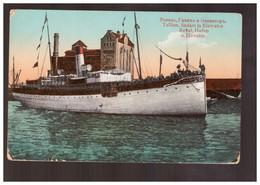 Reval Hafen Und Elefator Ca 1915 Old Postcard - Estonia