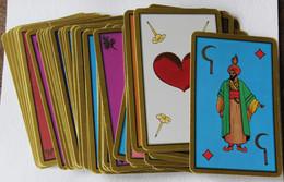 Beau Jeu De Tarot Oriental Jeu Divinatoire 55 Cartes Cartomancie Voyance - Tarots