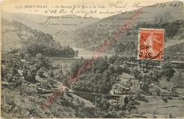42.  MONT PILAT .  Le Barrage De La Rive à La Valla . - Mont Pilat