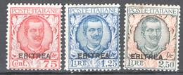 Eritrea 1926 Sass.113/15 */MVLH VF/F - Eritrea