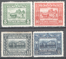 Eritrea 1910 Sass.34/37 */MLH VF/F - Eritrea