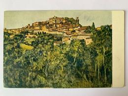Perugia Umbria Prima Guerra Pittore A. Zeyer - Perugia