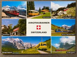 Jungfraubahnen Berner Oberland/ Mehransichten - BE Berne