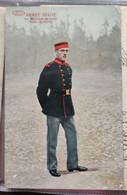 ABL Infanterie Belge Corps De Vol. Congolais Anvers - Namur - Guerra 1914-18