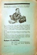 PUB - 1939 - Robert Claesen - Dictaphone Belgique. - Advertising