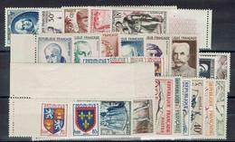 Fr - 1953 - Postes - Année Complète N° 940/967 - XX - MNH - TB - - 1950-1959