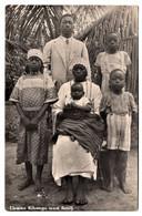 Teatcher Kibangu With Family - Angola