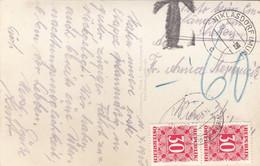 ÖSTERREICH NACHPORTO 1950 - 2x30 Gro Nachporto Auf Ak BRUCK A.d.MUR Gelaufen V. Niklasdorf > Wien ... - Errores & Curiosidades