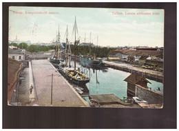 Reval Laewa Ehitamise Koht 1909 Old Postcard - Estonia