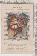 BERTIGLIA  CANZONE  MUSICA  FILI D'ORO NO VG - Bertiglia, A.