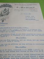 Lettre Commerciale/Manufacture De Chicorée/BERIOT/IVRY PORT/Leroy/Rue Henri IV/Ivry La Bataille/Eure/Lille/1955  FACT366 - Invoices