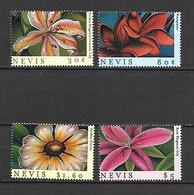 Nevis 2000 Caribbean Flowers MNH - St.Kitts Und Nevis ( 1983-...)