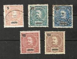 Portugal Angra N°14, 21, 22, 28, 30 Cote 14.80 Euros - Angra