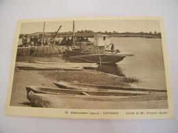 CPA - Afrique - Bénin - Cotonou - Débarcadère Lagune - 1920 - SUP - (DV 62) - Benin