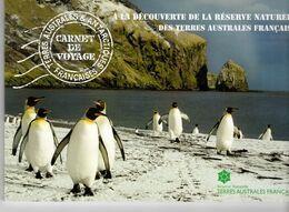 TAAF: CARNET DE VOYAGE C824. A La Découverte De La Reserve Naturelledes TAAF TP 824/839 NEUF** TRES BEAU. - Carnets