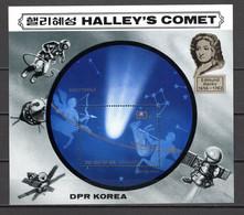 COREE DU SUD BLOC   N° ?  NEUF  SANS CHARNIERE COTE ? €   COMETE DE HALLEY - Korea, South