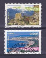TIMBRE FRANCE N°3942/3943 OBLITERE - Usati