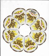 ETIQUETTE DE FROMAGE  NEUVE    SAINT ALBRAY JURANCON - Cheese