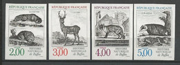 SERIE NATURE N° 2539 à 2542 NEUF** LUXE SANS CHARNIERE  / MNH - Imperforates