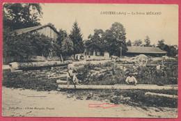 Lhuitre Aube : La Scierie Menard / Thème : Métiers Du Bois - Sciage - Andere Gemeenten